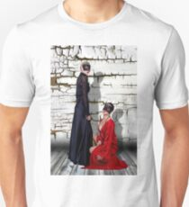 Mystical Fashion  Girls Fine Art Print T-Shirt