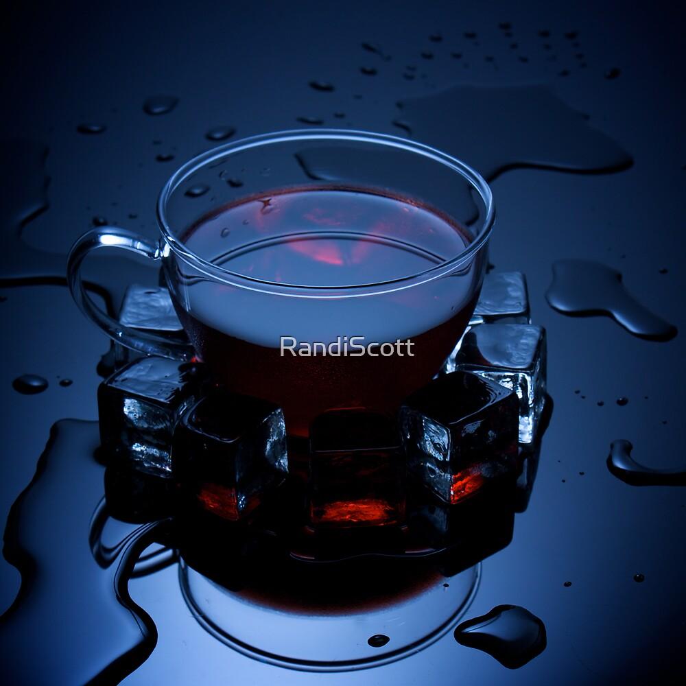 Ice Tea on Black by RandiScott