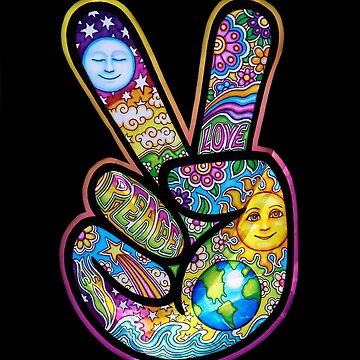 PEACE AND LOVE FROM THE '60'S by heatherfriedman