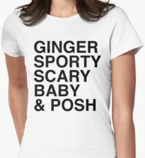 Spice Girls Women's Fitted T-Shirt