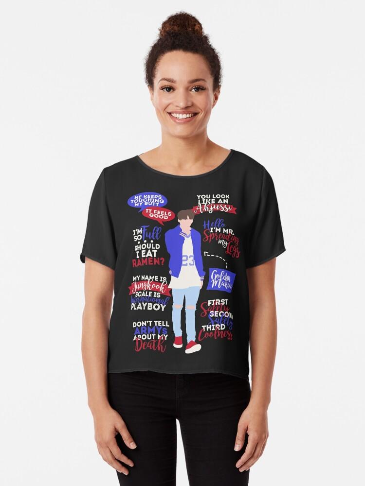 camiseta bts jungkook quotes de zerokara redbubble