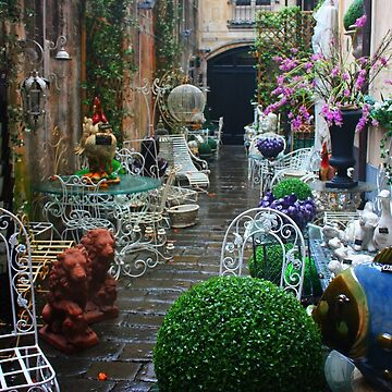 Brick-a-Brack Street in Genoa. Italy 2012 by IgorPozdnyakov