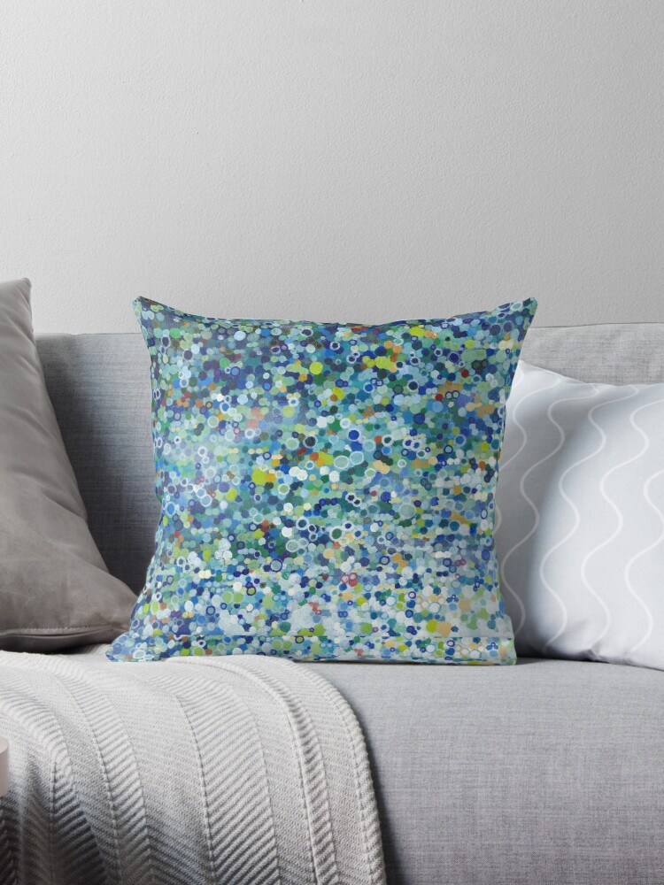 Leo Dotted Pillow by MargaretJuul
