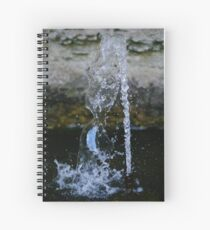 Playing with Water 2 Spiral Notebook
