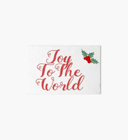 Joy to The World Art Board
