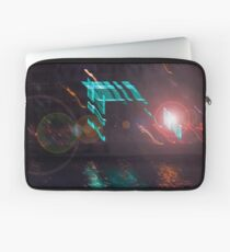Abstract lights in a urban view during the night Laptop Sleeve
