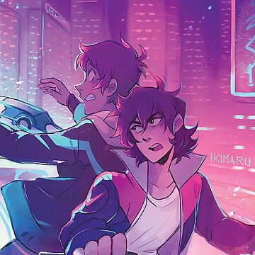 Neon city chase by ikimaru