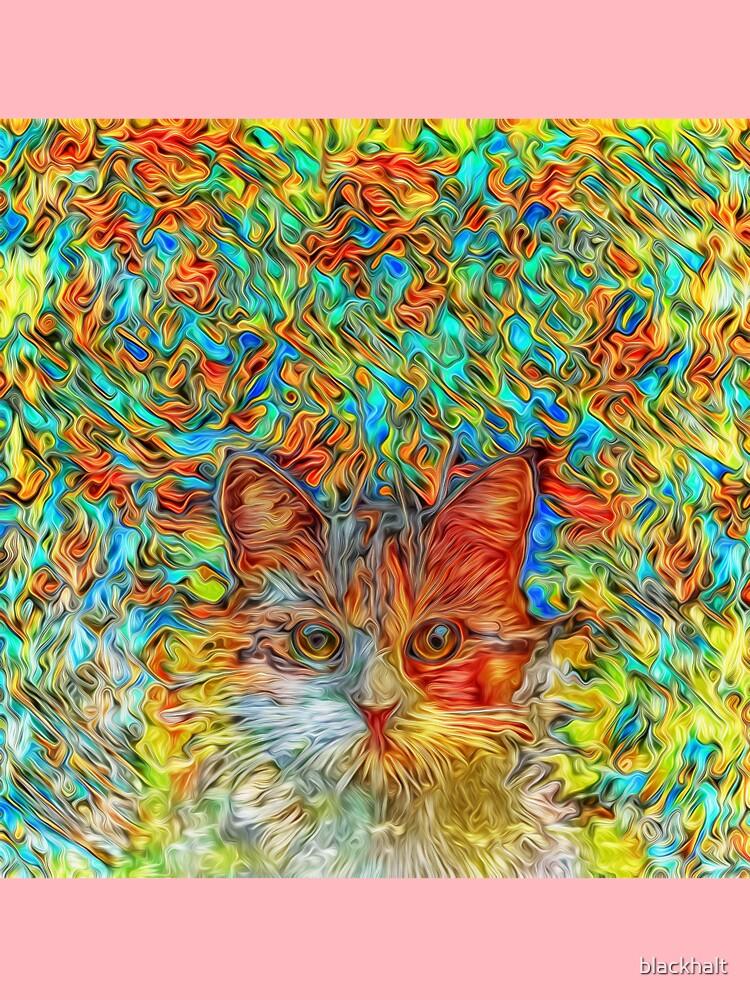 Abstract Cat by blackhalt