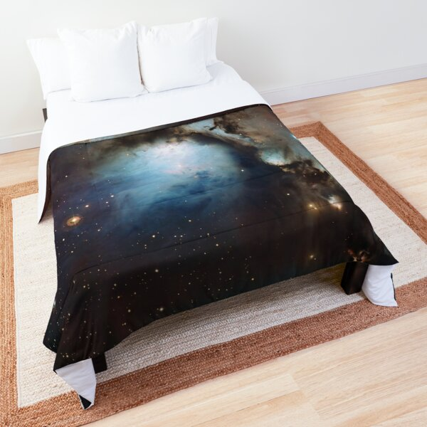 Nebula Messier 78 M78 or NGC 2068 reflection nebula in Orion ESO Space Telescope Picture HD HIGH QUALITY Comforter