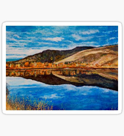 Wonderland Lake, Boulder Colorado Sticker