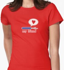 My Friend Seam Ripper Women's Fitted T-Shirt