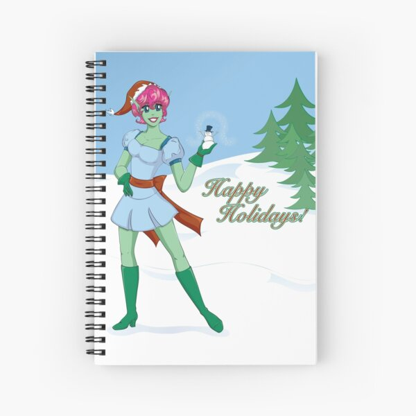 On the Nice List Spiral Notebook