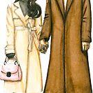Das niedliche koreanische Paar 2 von Larisa Zagumennova