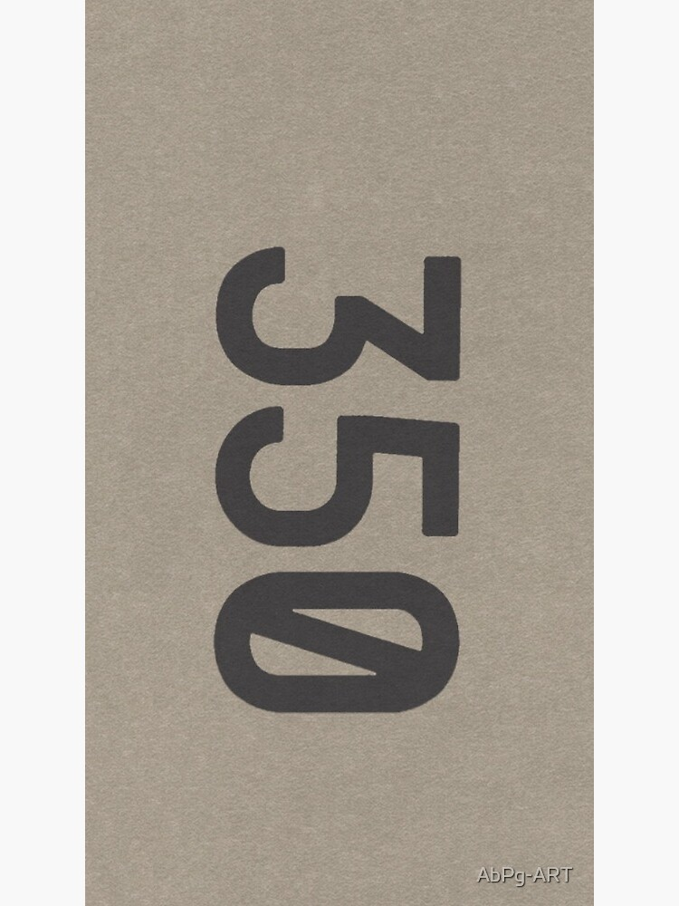 Yeezy Boost 350 Box Logo Stickers Kanye