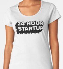 The Official #24hrstartup T-Shirt Women's Premium T-Shirt