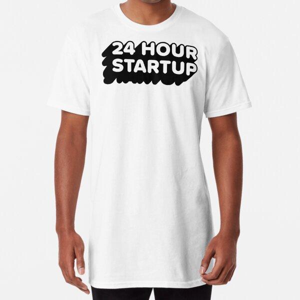 The Official #24hrstartup T-Shirt Long T-Shirt
