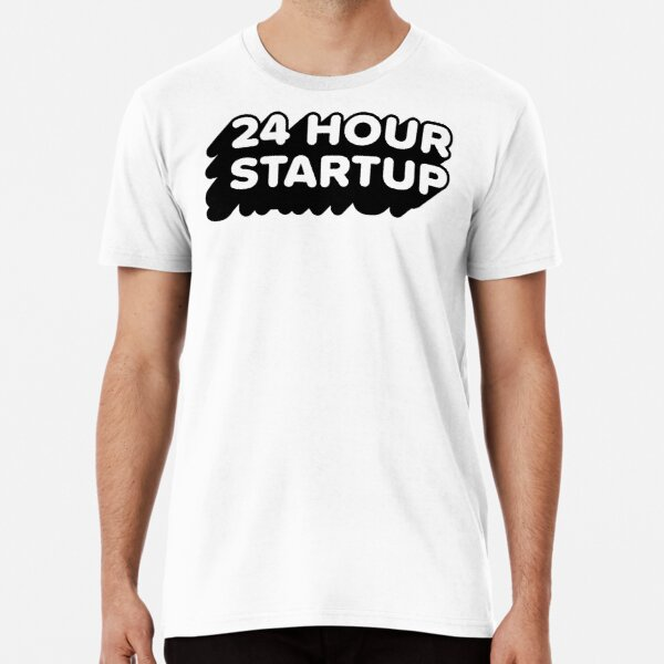 The Official #24hrstartup T-Shirt Premium T-Shirt