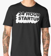 The Official #24hrstartup T-Shirt - Black Men's Premium T-Shirt