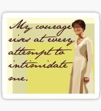 Lizzie's Courage Sticker