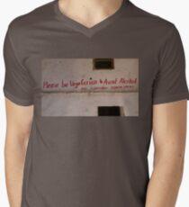 be healthy  Men's V-Neck T-Shirt