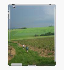 a vast France landscape iPad Case/Skin