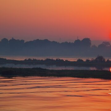 Egypt. Another Sunset on the Nile. by vadim19