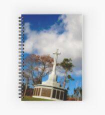 War Monument in Point Pleasant Park Spiral Notebook