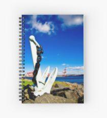 Anchored in Halifax Spiral Notebook