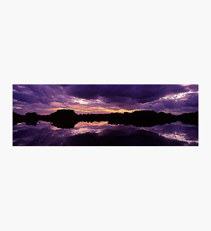 Sunset in the Catlins Forest Park Photographic Print