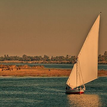 Egypt. Nile. Another Felucca. by vadim19