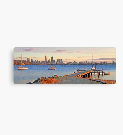 Pelican Point - Perth Western Australia   Canvas Print