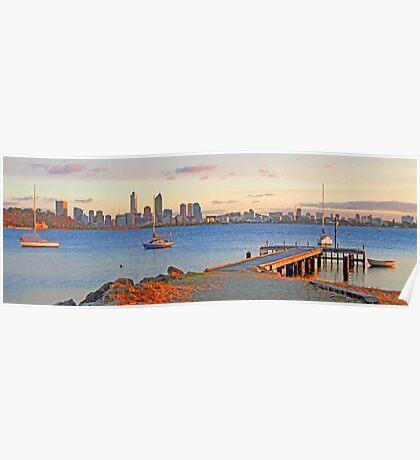 Pelican Point - Perth Western Australia   Poster