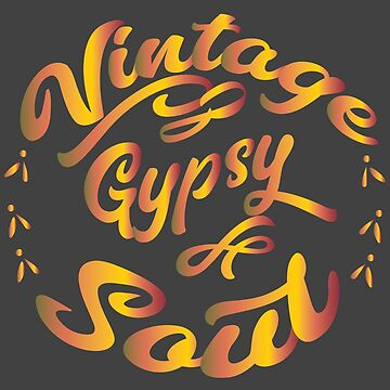 Vintage Gypsy Soul Hippie 60s 70s by VintageInspired