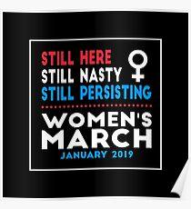Frauen März 2019 Poster