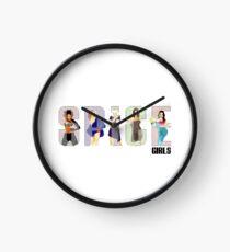 Spiceworld logo Clock