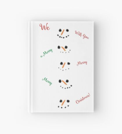 Snowmen in a Snowstorm! Hardcover Journal