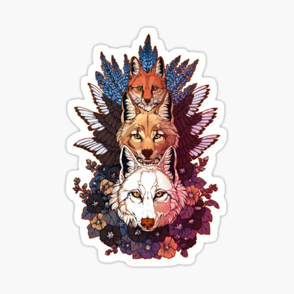 Heraldry Canidae Sticker