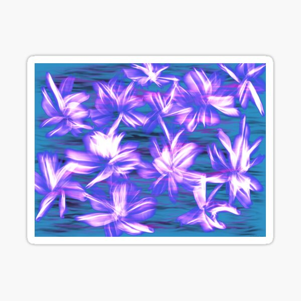 Lily Flames  Sticker
