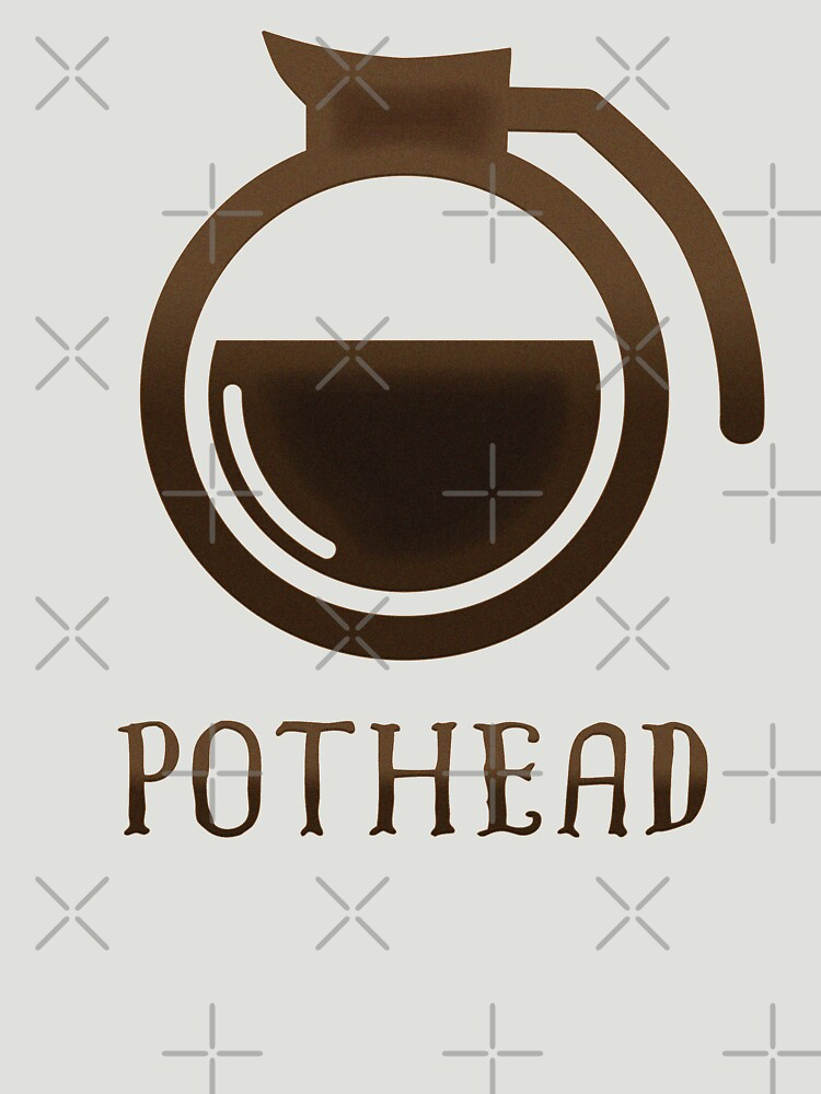 Coffee Lover Coffee Pot Pothead Gift Pothead  by thespottydogg