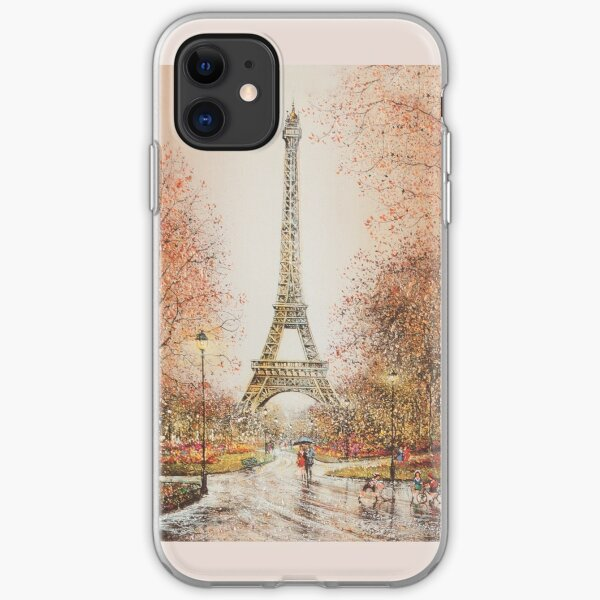 Paris Art iPhone Soft Case
