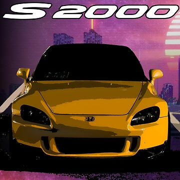 Honda S2000 Vapor Wave by Woreth