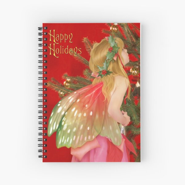 Christmas tree fairy Spiral Notebook