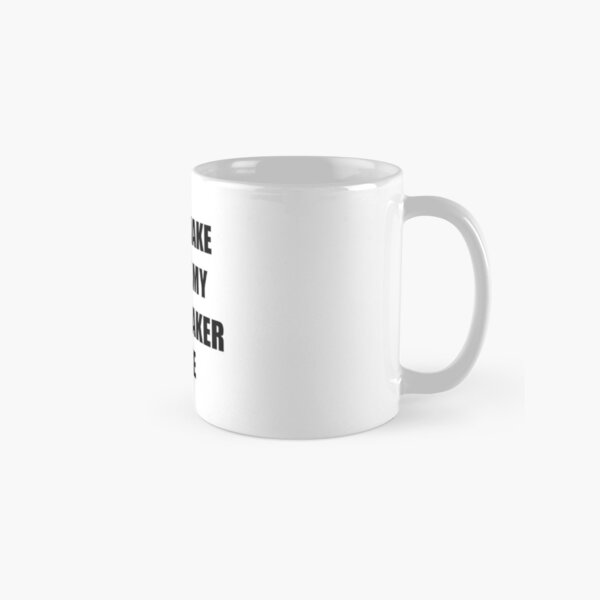 Dressmaker Gift for Coworkers Funny Present Idea Classic Mug