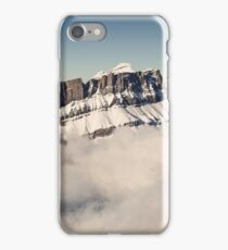 Above the Clouds, French Alps iPhone Case/Skin