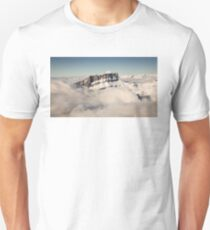 Above the Clouds, French Alps Unisex T-Shirt