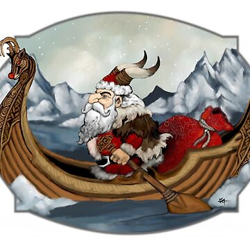 Santa Viking by ZugArt