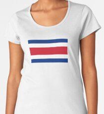 070ef5e8d Flag of Costa Rica Women s Premium T-Shirt