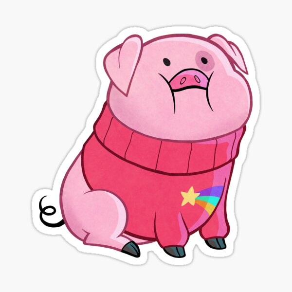 Gravity Falls - Waddles Sticker