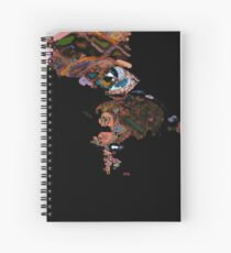 Abstract Eyes Spiral Notebook