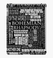 BOHEMIAN RHAPSODY LYRICS iPad Case/Skin